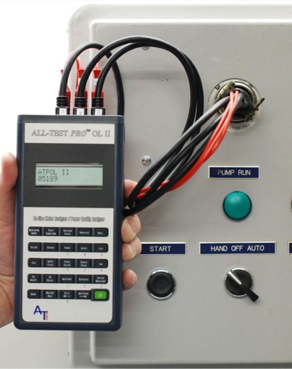 ALL-SAFE PRO™ Connection Box Motor Testing Instrument