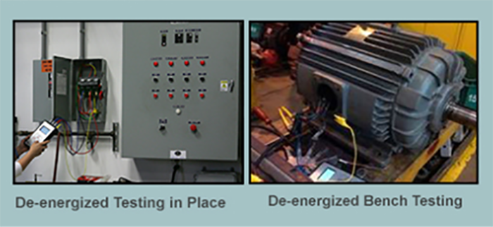 De energized Bench Testing in place